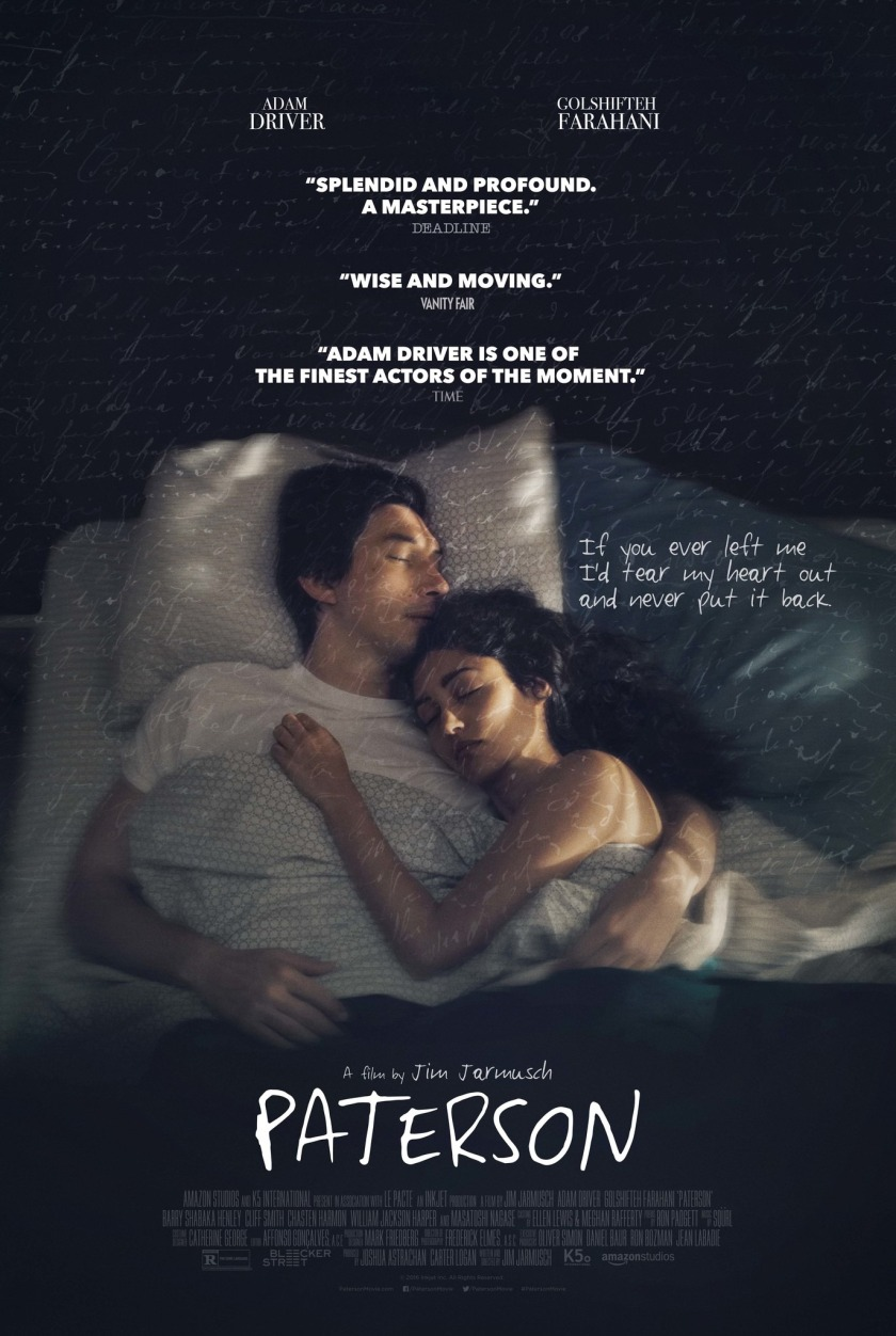Paterson Movie Poster Imp Awards
