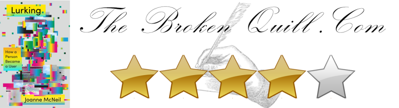 BOOK REVIEW RATING BANNER LURKING BY JOANNE MCNEIL