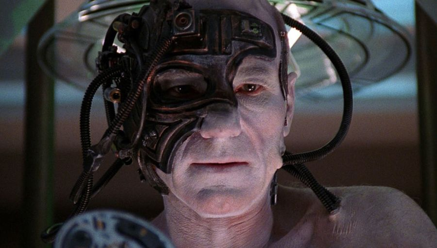 Picard as Borg