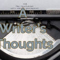 A Writer's Thoughts Banner