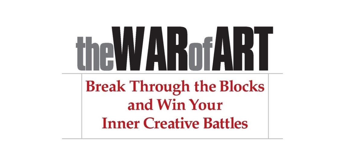 The War of Art Book
